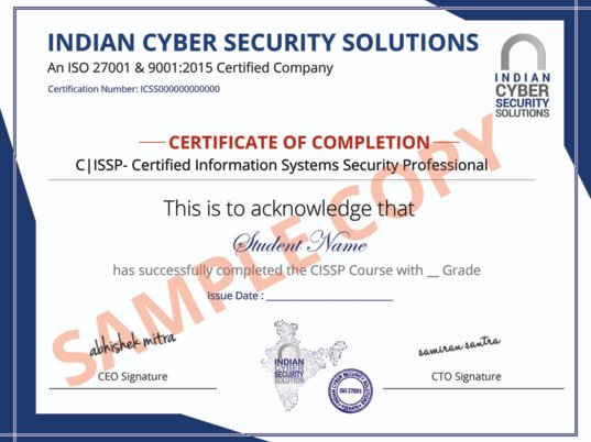 CISSP Certification in Hyderabad - ICSS