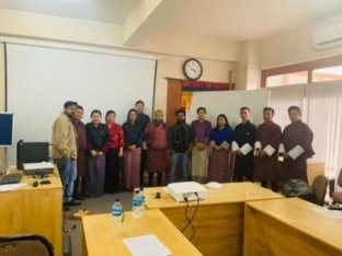 Machine Learning Training Session's - Royal Police and Army of Bhutan - Indian Cyber Security Solutions
